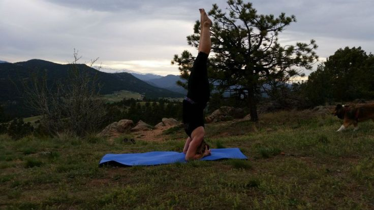 Headstand_Mt Falcon