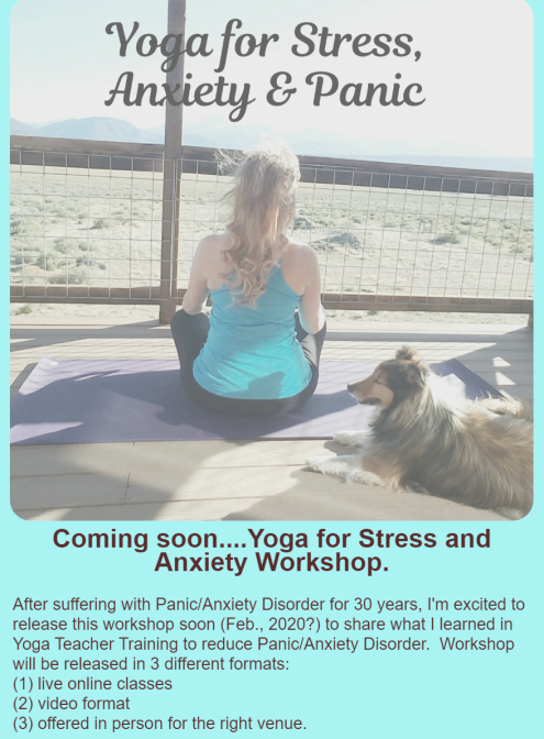 Yoga for Anxiety & Panic Disorder - image ad